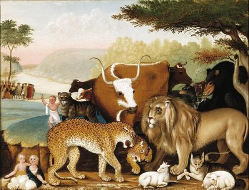 edward hicks the peaceable kingdom
