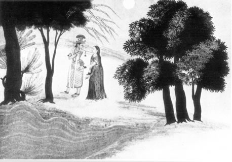 Illustration to the Ghagavala Purana Kangra- Punjab Hills-1790