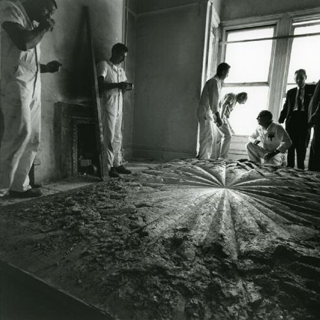 Jay DeFeo _movingtherose